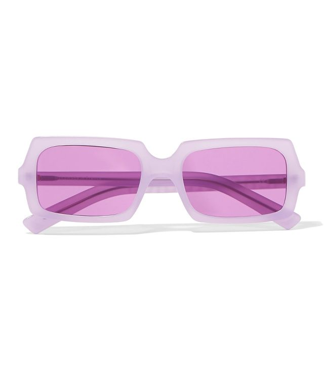 Acne Studios George Square-Frame Acetate Sunglasses