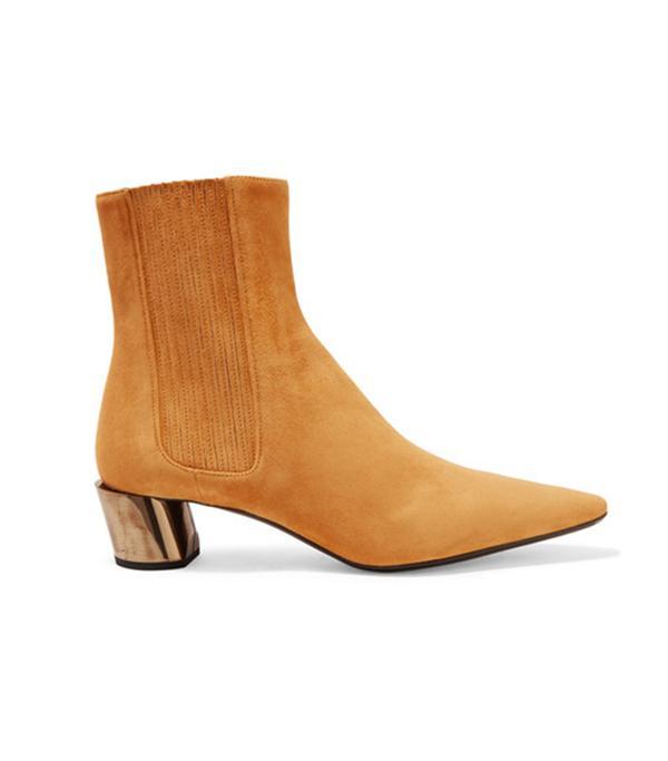 Jil Sander Suede Chelsea Boots