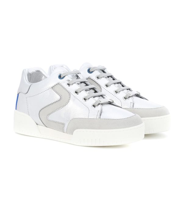 mytheresa.com sneakers: Stella McCartney Stella Faux-Leather Sneakers