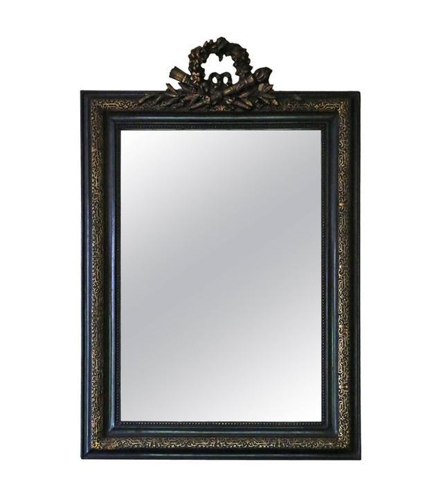 1stdibs Antique Large Victorian Ebonized Wall Mirror Overmantel