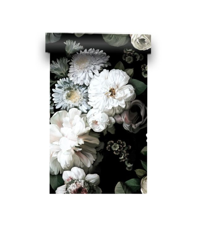 Ellie Cashman Design Dark Floral Wallpaper