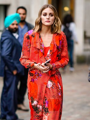 6 Fall Floral Outfits We're Stealing From Olivia Palermo