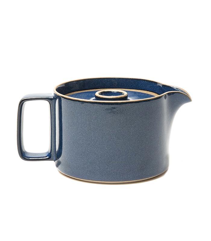 Tea Pot in Blue by Hasami Porcelain