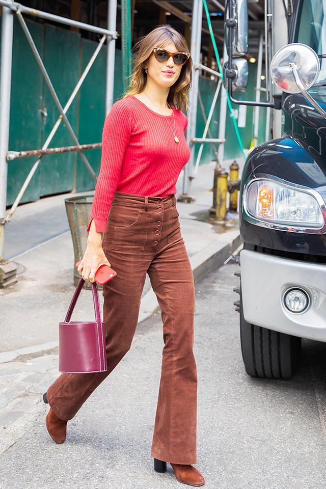 Jeanne Damas NYC Street Style