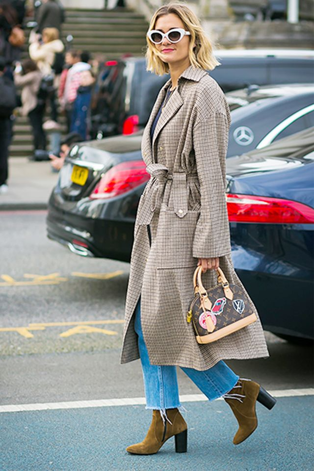 What to Wear With Brown Boots this Winter