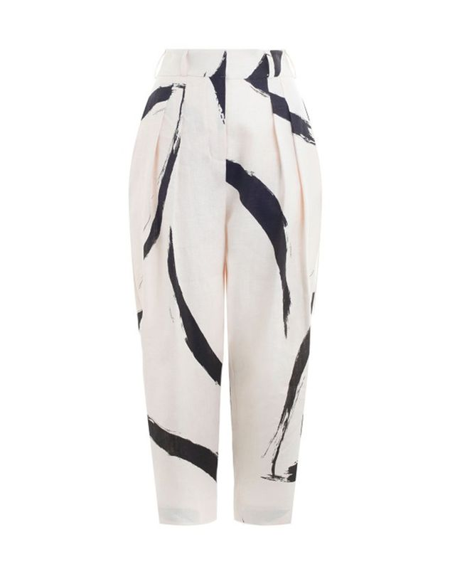 Zimmermann Painted Heart Peg Trouser
