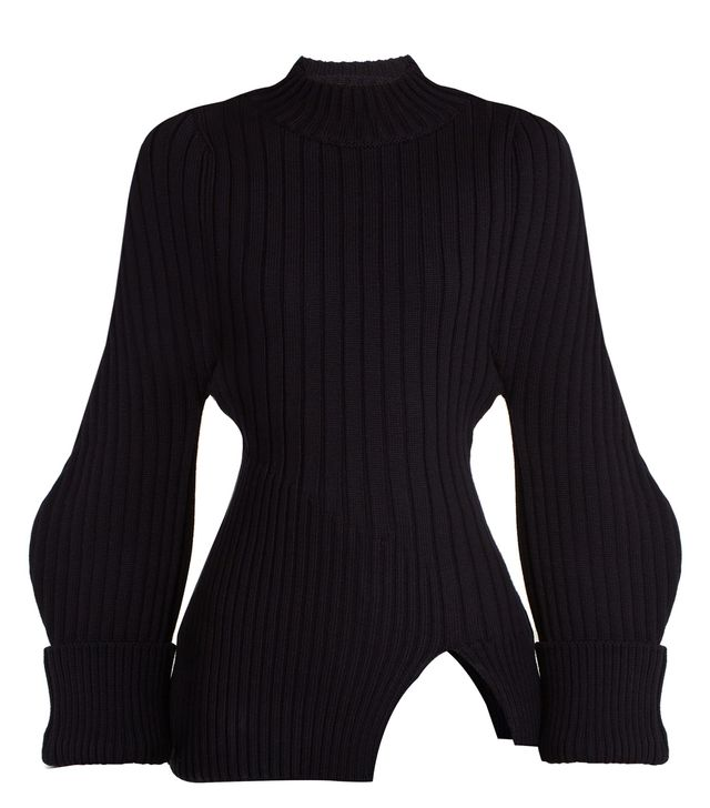 La Maille Pablo ribbed-knit wool sweater