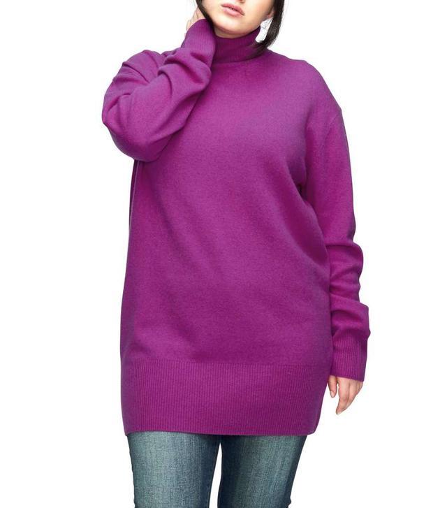 Plus Size Women's Universal Standard Wheaton Turtleneck Sweater