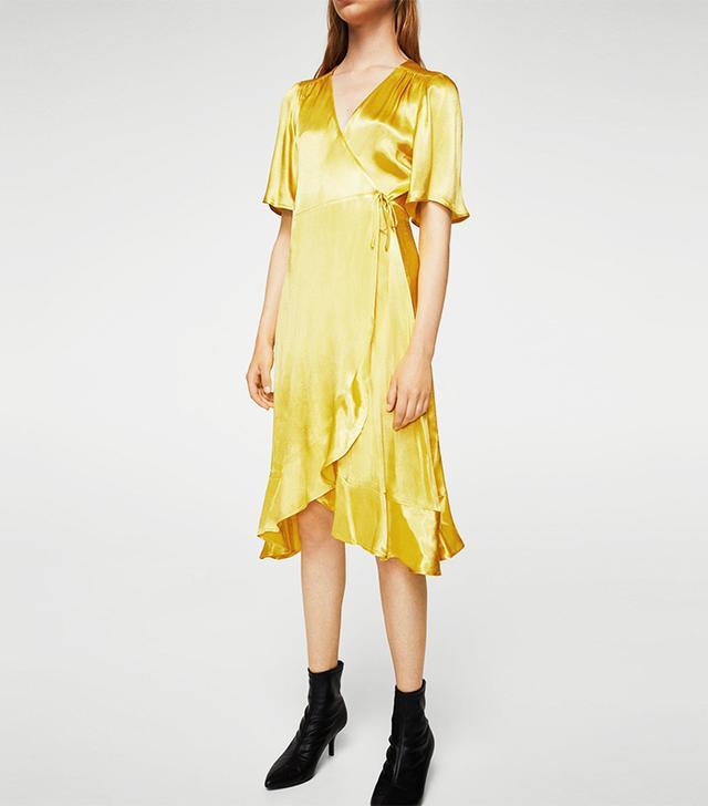 Resort trends 2018: Mango wrap dress