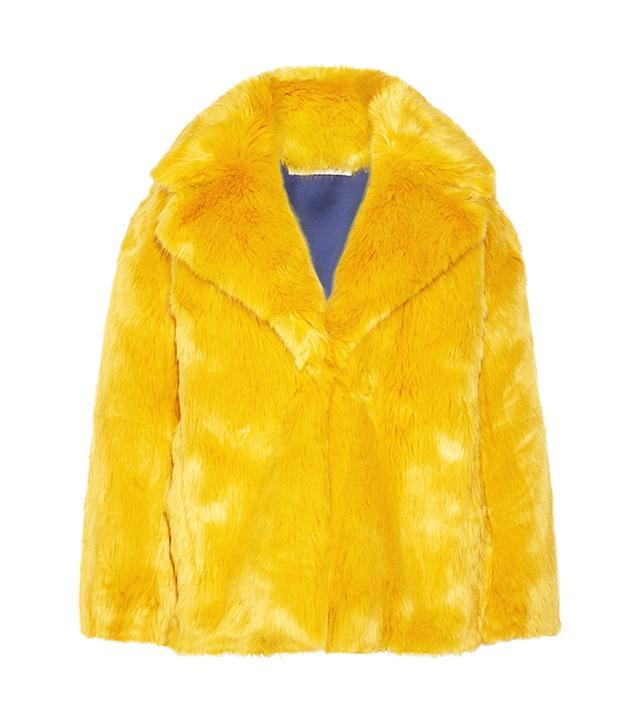 Resort trends 2018: Diane von Furstenberg faux fur coat