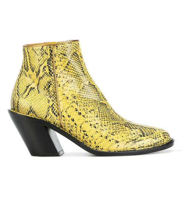 Resort trends 2018: A.F.Vandervorst snake-print boots