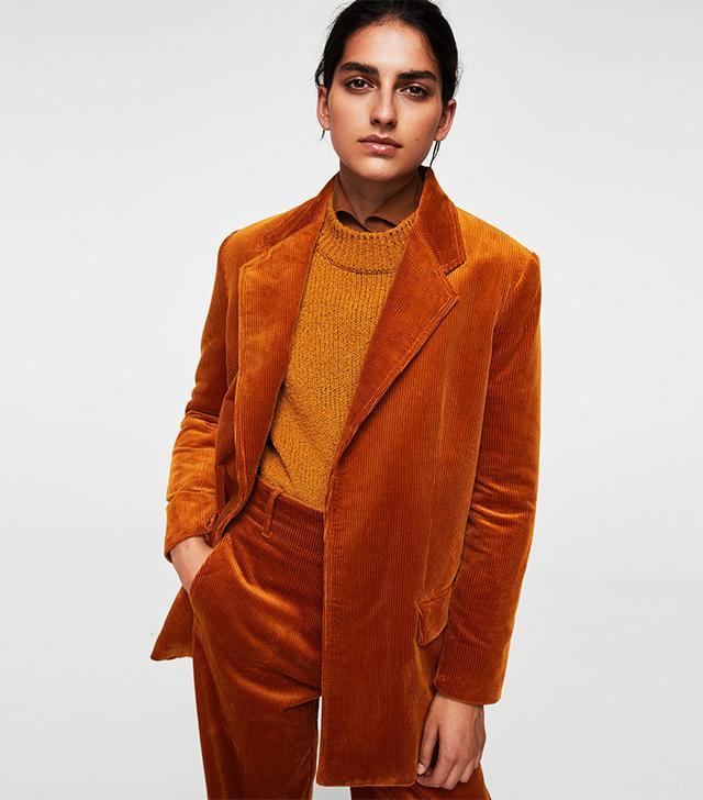 Resort trends 2018: Mango corduroy blazer