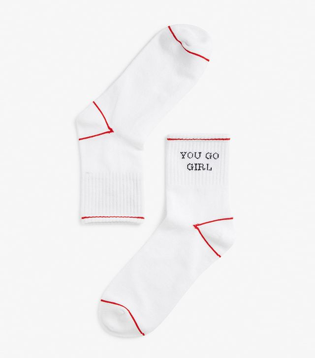 Resort trends 2018: Monki sporty socks