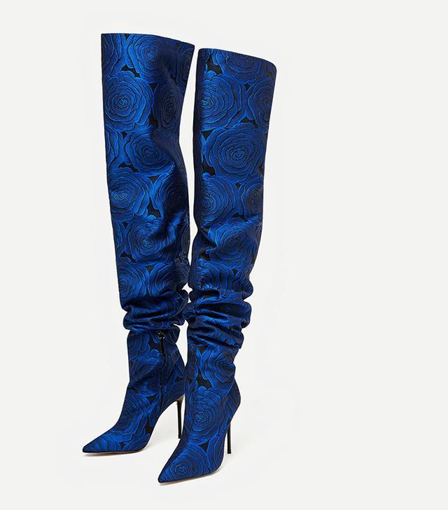 Resort trends 2018: Zara floral boots