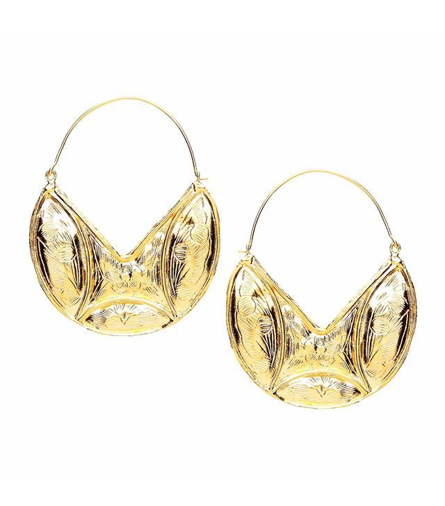 Resort trends 2018: Ottaman Hands earrings