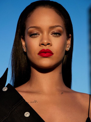 "Fenty Beauty Is at It Again, This Time With a Flattering Red ""Lip Paint"""