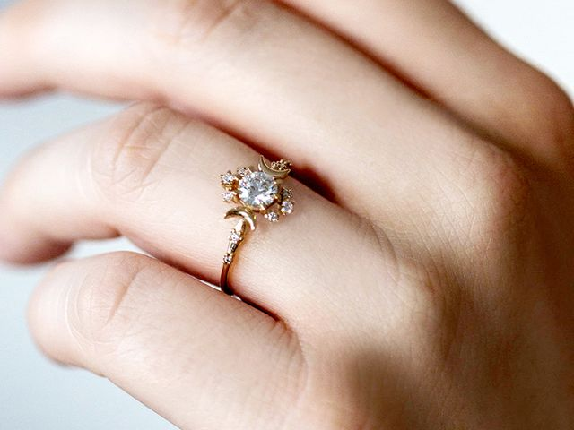 The most popular engagement ring trends of 2017 whowhatwear junglespirit Image collections