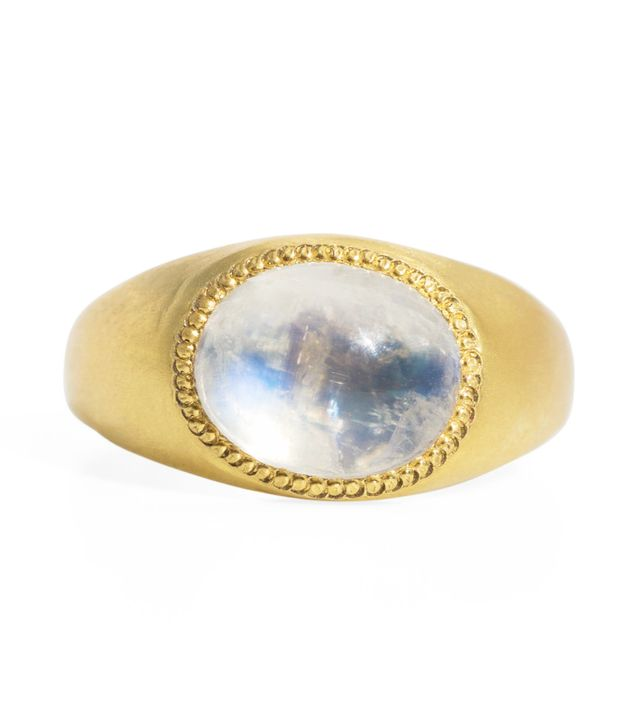 Prounis Moonstone Roz Ring