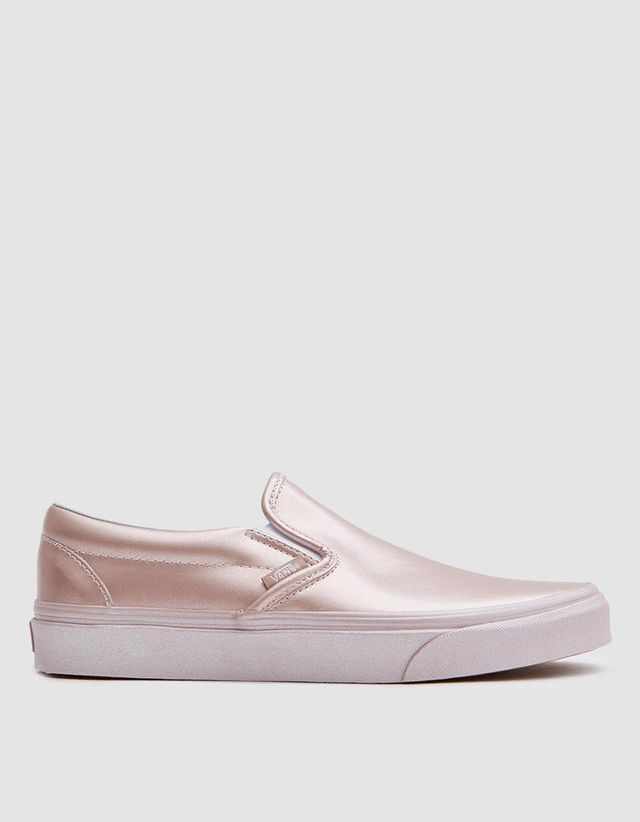 Classic Slip On in Metallic Rose Gold