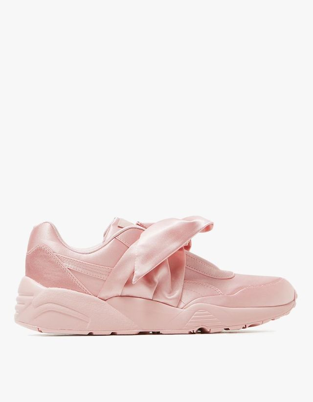 Bow Trinomic in Silver Pink