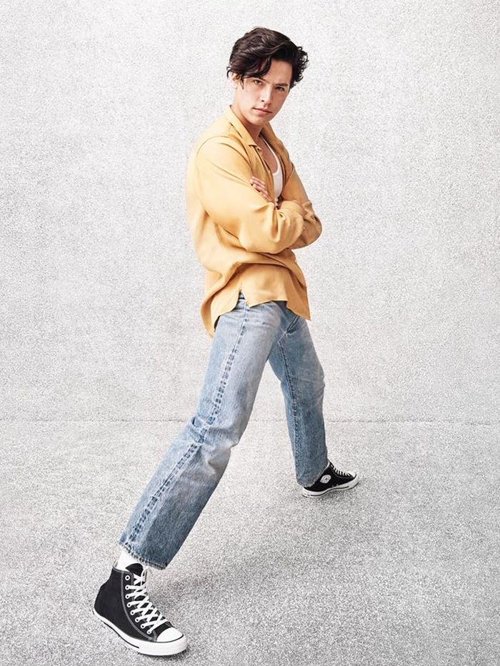 fedef047f109bf Cole Sprouse Wore the Sneakers That Look Perfect With Jeans ...