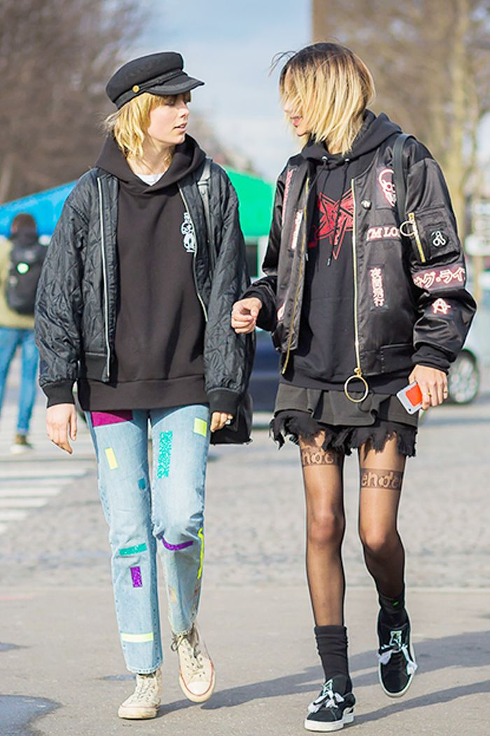The Non Sloppy Way To Wear An Oversize T Shirt Who What Wear