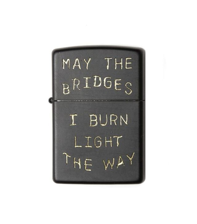 Bridge & Burn Bridges I Burn Zippo