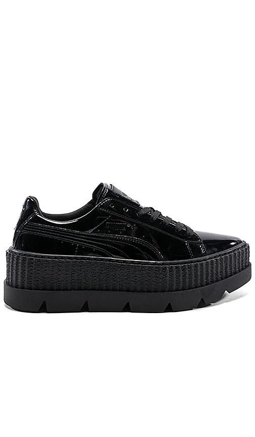Pointy Patent Creeper in Black. - size 10 (also in 6.5,7.5,8.5,9)
