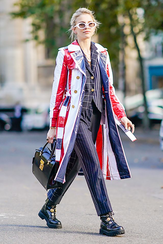 """""""Chunky, combat-style boots are the key to a cool everyday uniform."""""""