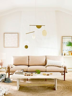 This Is Exactly How to Make Over Your Living Room for Free
