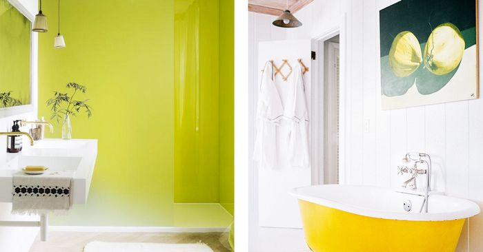 Buh-Bye, Boring: These Bathroom Color Ideas Pack a Punch | MyDomaine