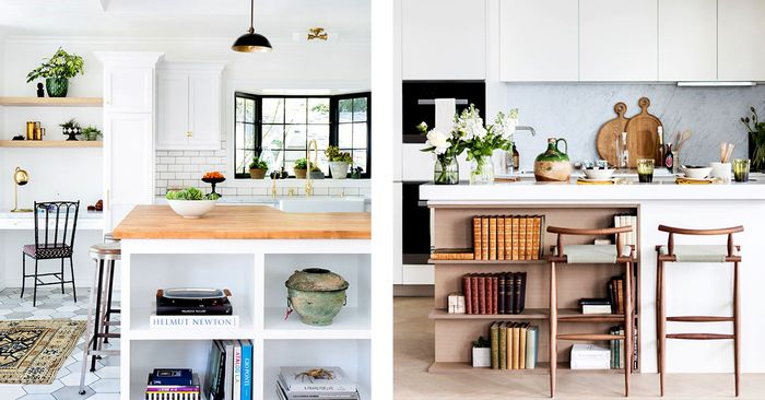 These Small Kitchen Island Ideas Will Make Cooking Easier | MyDomaine