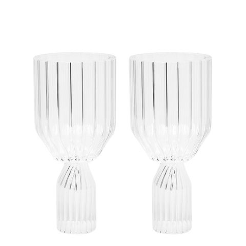 Margot White Wine Goblets, Set of 2