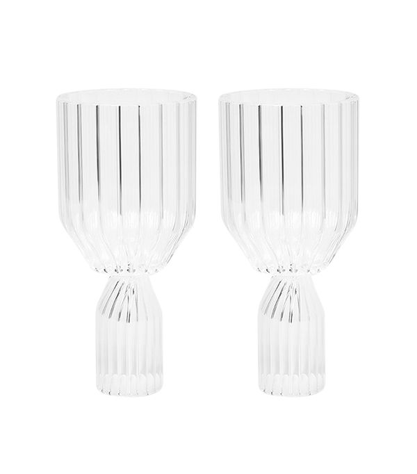Margot White Wine Goblets - Set of 2