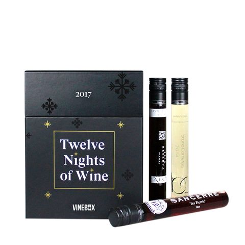 Twelve Nights of Wine