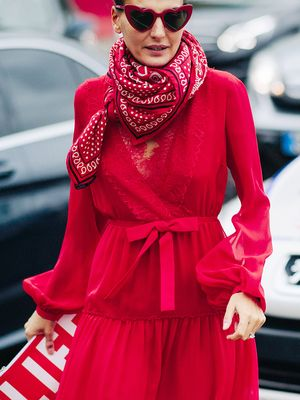 10 All-Red Outfits to Get You Into the Holidays