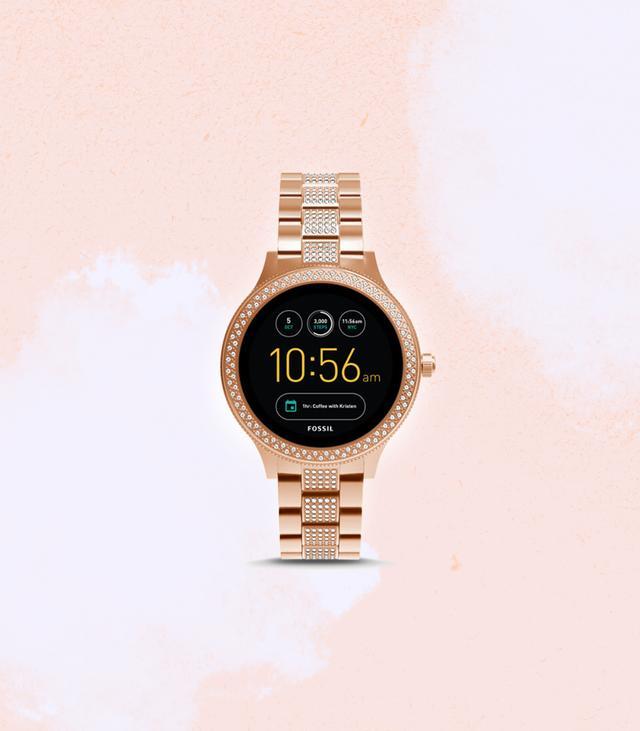 Fossil Q Venture Smartwatch in Rose Gold
