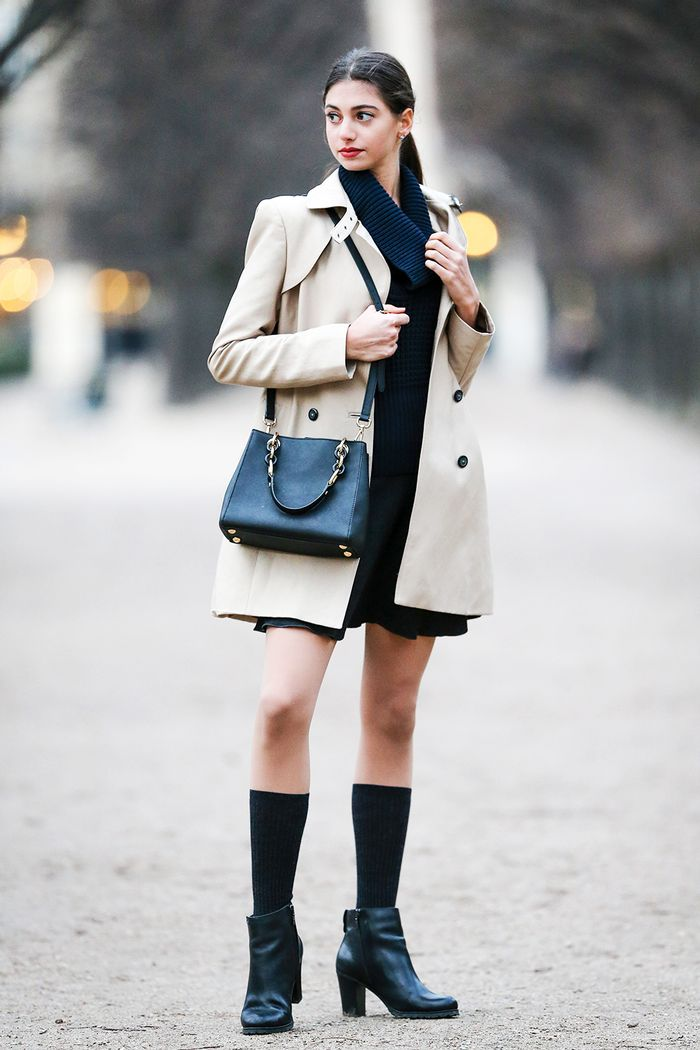 how to wear knee-high socks