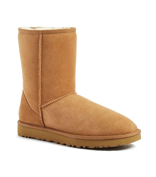 Ugg Genuine Shearling Lined Short Boots