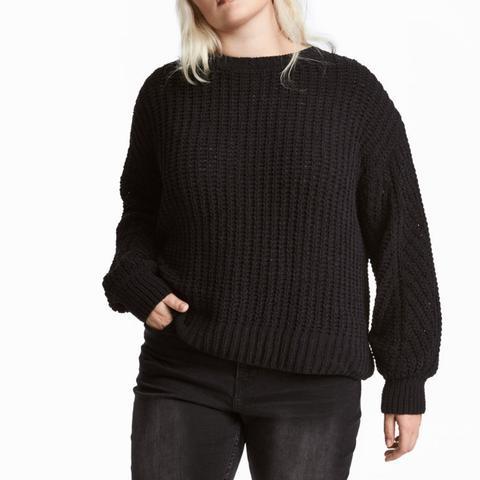 Rib-Knit Sweater