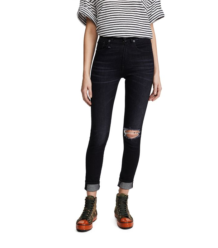 13 Ways to Wear Black Ripped Jeans