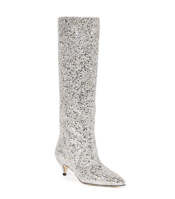 Olina Kitten Heel Boots