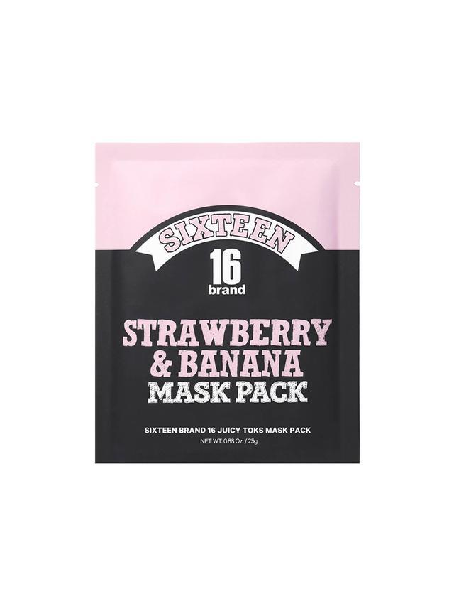 16 Brand Juicy Mask Pack Strawberry Banana