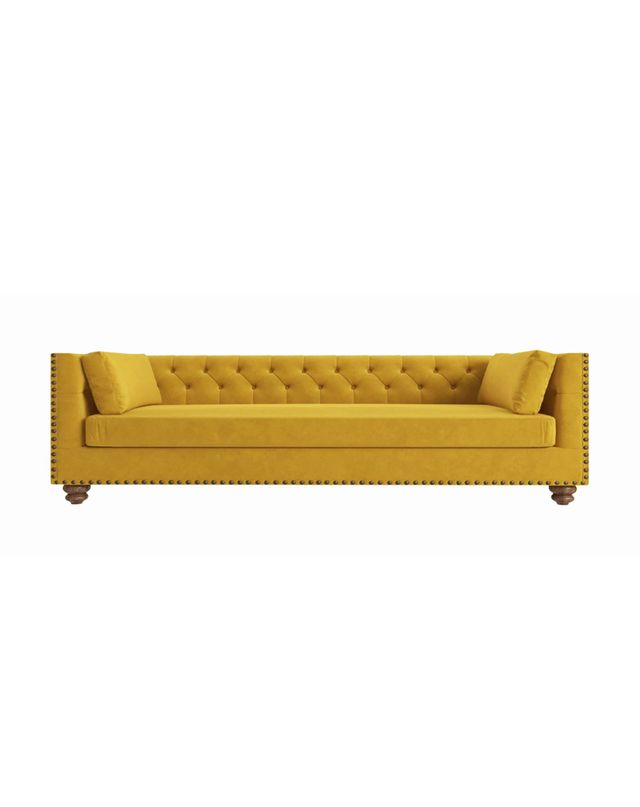 Brosa Florence Velvet Chesterfield 3 Seater Sofa
