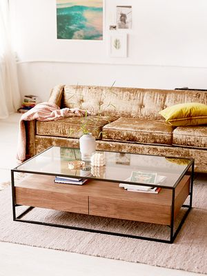 9 Coffee Tables With Storage to Pick Up Your Linen Closet's Slack