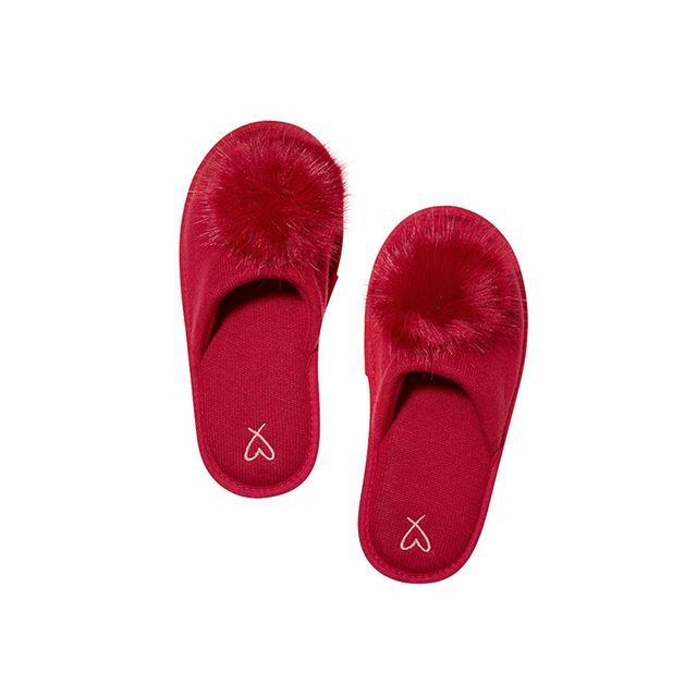 Victoria's Secret Pom-Pom Slipper