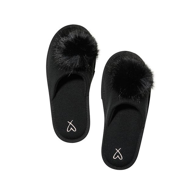 Victoria's Secret Pom-Pom Slippers