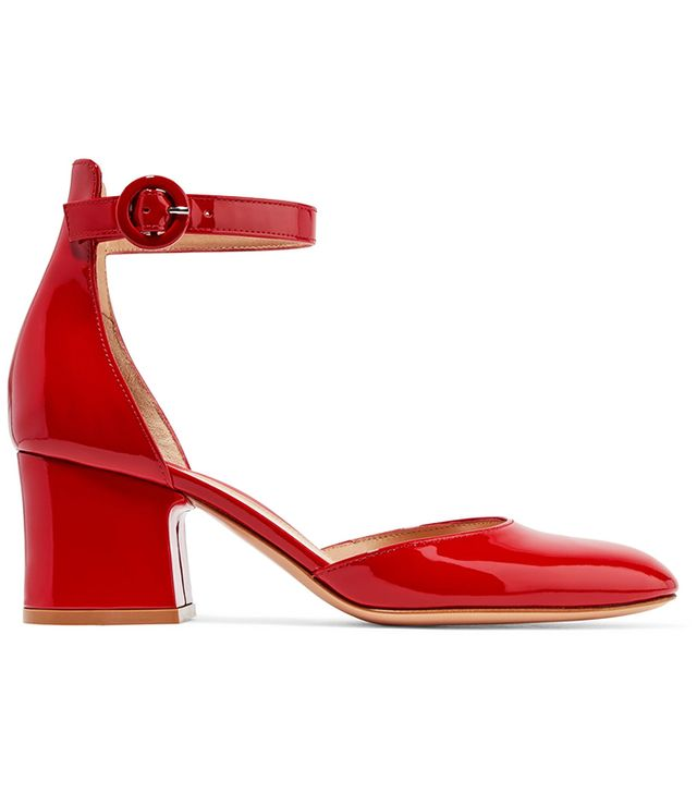 Gianvito Rossi Patent Mary-Jane Pumps