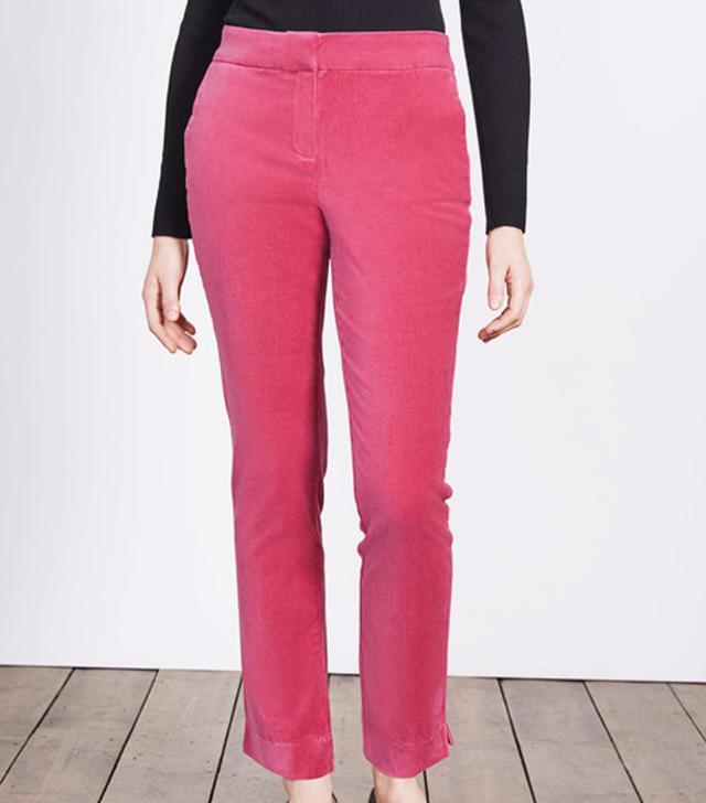 Boden Velvet Trousers