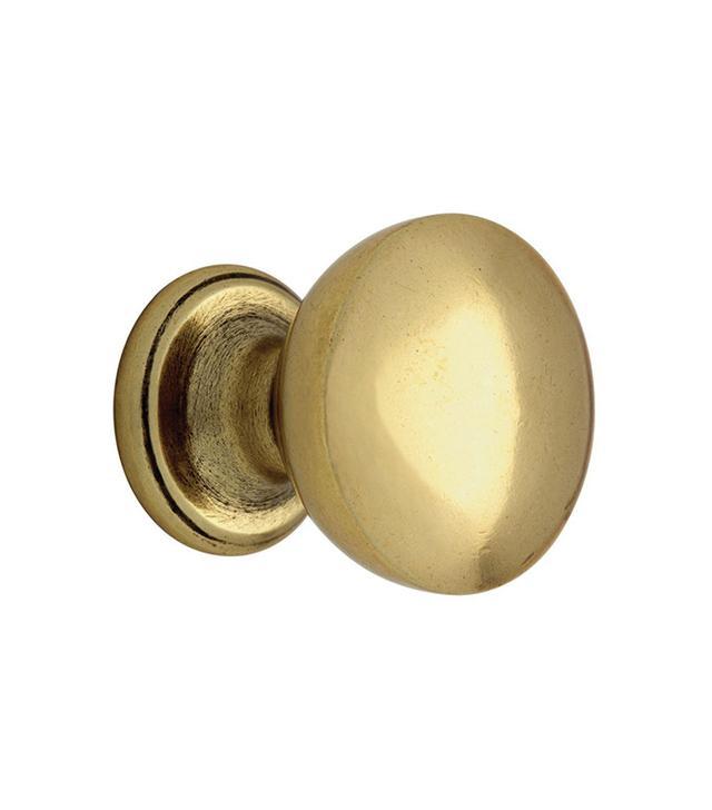 Martha Stewart Living Bedford Brass Goblet Cabinet Knob